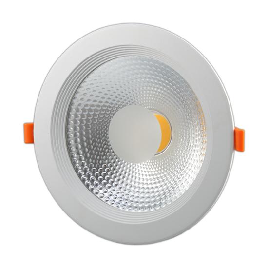 Εικόνα της Φωτιστικό Led COB Στρογγυλό 20watt Θερμό λευκό - TUV PASS