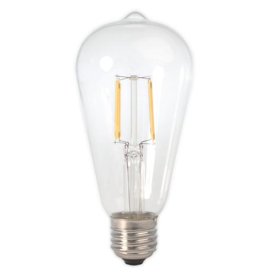 Εικόνα της Filament E27 Λάμπα Led ST64 4W 400Lm Θερμό λευκό