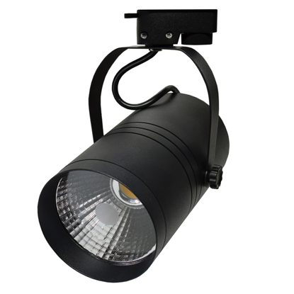 Εικόνα της LED Interior Track Light Μάυρο COB 25W Ψυχρό Λευκό
