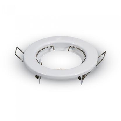 Εικόνα της Βάση Σποτ MR16 Στρογγυλό Σταθερό Λευκό