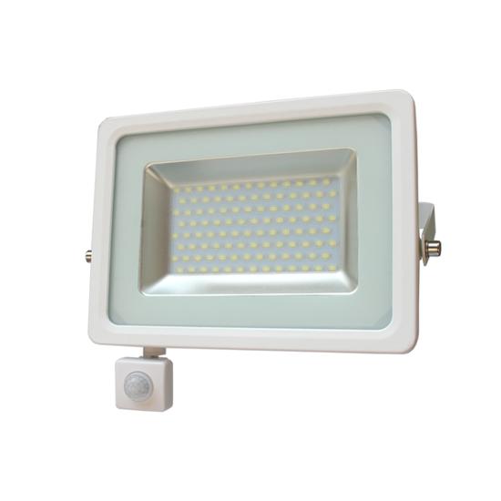 Εικόνα της LED Προβολέας Slim SMD I-Desing 30 Watt με Ανιχνευτή Κίνησης Ψυχρό Λευκό