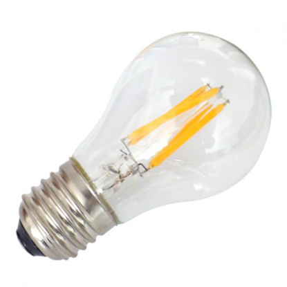 Εικόνα της Filament E27 Λάμπα Led A60 4W 400Lm Φυσικό λευκό