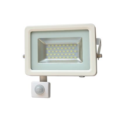 Εικόνα της LED Προβολέας Slim SMD I-Desing 20 Watt με Ανιχνευτή Κίνησης Ψυχρό Λευκό