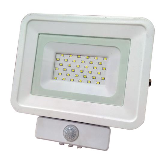 Εικόνα της LED Προβολέας SMD 20 Watt  Classic Line2 με Ανιχνευτή Κίνησης Φυσικό Λευκό