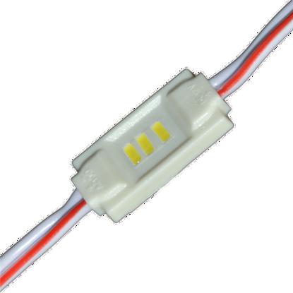 Εικόνα της LED MODULE 3 3014 DC12V 120° 0.36W IP65 3000K