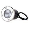Εικόνα της Φωτιστικό Led Δαπέδου Χωνευτό 220V 3x1Watt RGB
