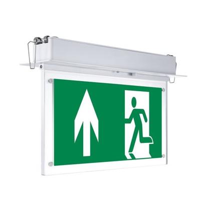 Εικόνα της LED Φωτιστικό Ασφαλείας Χωνευτό Οροφής 2W