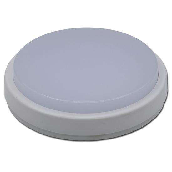 Εικόνα της LED Πλαφονιέρα IP65 12W Στρογγυλή Ψυχρό Λευκό