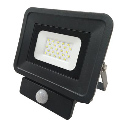 Εικόνα της LED Προβολέας SMD 20 Watt  Classic Line2 με Ανιχνευτή Κίνησης Θερμό Λευκό Μαύρος