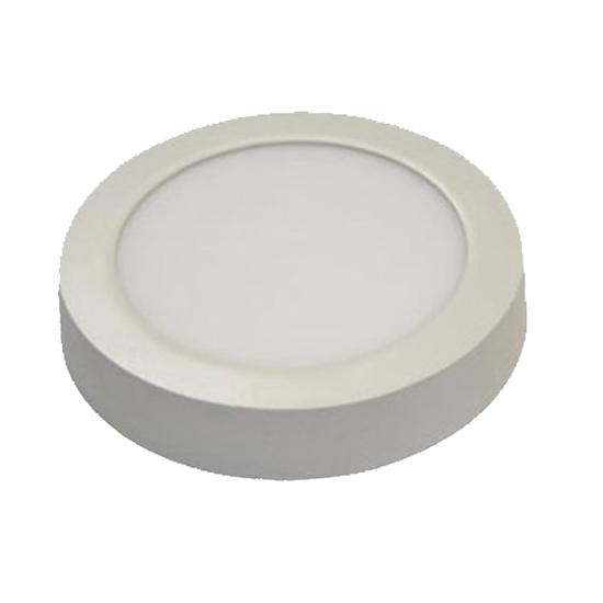 Εικόνα της Led Panel στρογγυλό εξωτερικό 12watt 960Lm Φυσικό λευκό