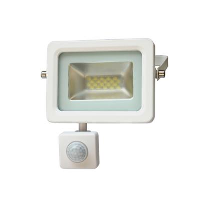 Εικόνα της LED Προβολέας Slim SMD I-Desing 10 Watt με Ανιχνευτή Κίνησης Ψυχρό Λευκό