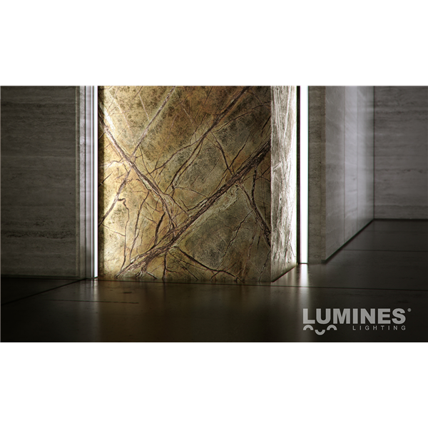 Εικόνα της Προφίλ Αλουμινίου Ταινίας Led Χωνευτό Type Y Μπρονζέ Ανοδίωση