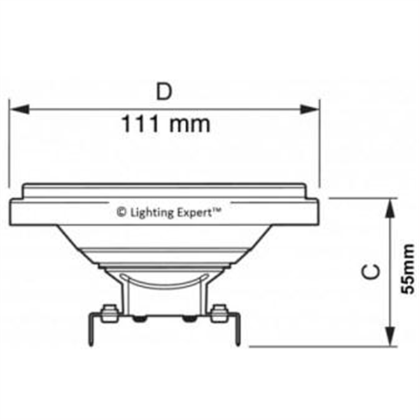 Εικόνα της Λαμπτήρας Led AR111 30° 12Watt Φυσικό λευκό