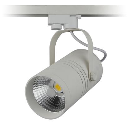 Εικόνα της LED Interior Track Light Λευκό COB 25W Θερμό Λευκό