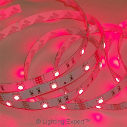 Εικόνα της Ταινία led αδιάβροχη IP65 14.4 watt με 60 led 5050 smd ανα μέτρο Κόκκινο