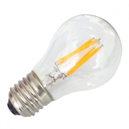 Εικόνα της Filament E27 Λάμπα Led A60 6W 600Lm Θερμό λευκό Dimmable