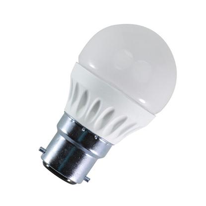 Εικόνα της Β22 Led Λάμπα G45 5Watt Θερμό λευκό
