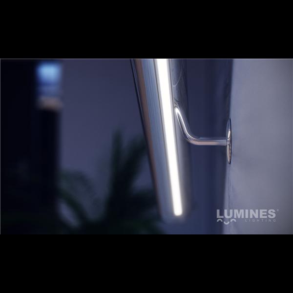 Εικόνα της Προφίλ Αλουμινίου Ταινίας Led Type X Γκρι Ανοδίωση