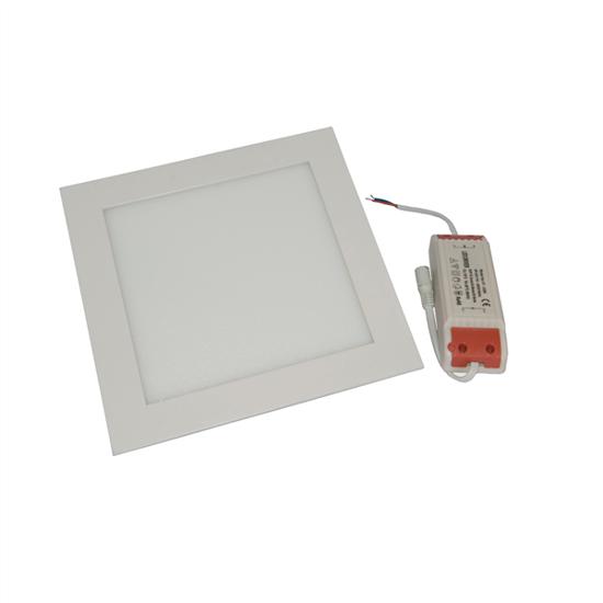 Εικόνα της Φωτιστικό οροφής τετράγωνο panel Led χωνευτό 3watt Ψυχρό λευκό