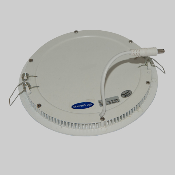 Εικόνα της Φωτιστικό οροφής στρογγυλο panel Led χωνευτό 12watt Ψυχρό λευκό
