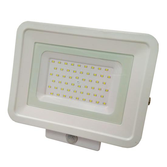 Εικόνα της LED Προβολέας SMD 50 Watt  Classic Line2 με Ανιχνευτή Κίνησης Ψυχρό Λευκό