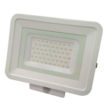 Εικόνα της LED Προβολέας SMD 50 Watt  Classic Line2 με Ανιχνευτή Κίνησης Φυσικό Λευκό