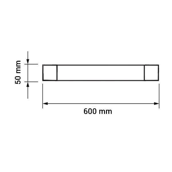 Εικόνα της Led Φωτιστικό Γραμμικό IP65 60CM 20W 6000K