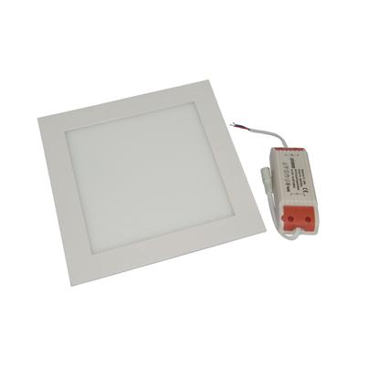 Εικόνα της Φωτιστικό οροφής τετράγωνο panel Led χωνευτό 3watt Θερμό λευκό