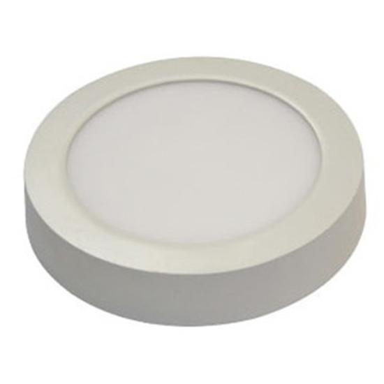 Εικόνα της Led Panel στρογγυλό εξωτερικό 18watt Φυσικό λευκό
