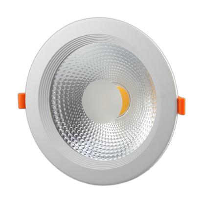Εικόνα της Φωτιστικό Led COB Στρογγυλό 30watt Θερμό λευκό - TUV PASS