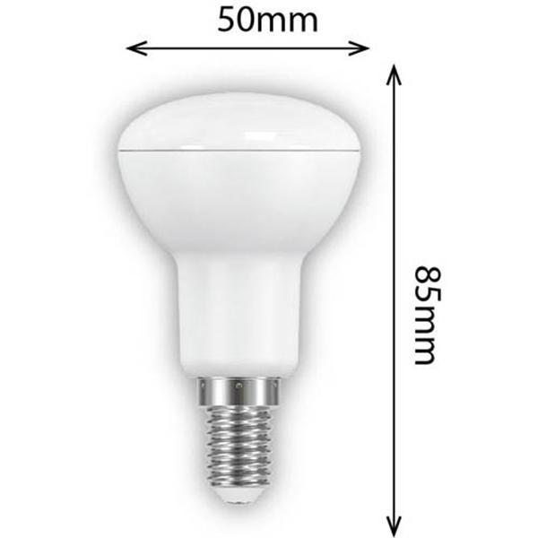 Εικόνα της Ε14 Λάμπα Led Bulb R50 6Watt Ψυχρό Λευκό