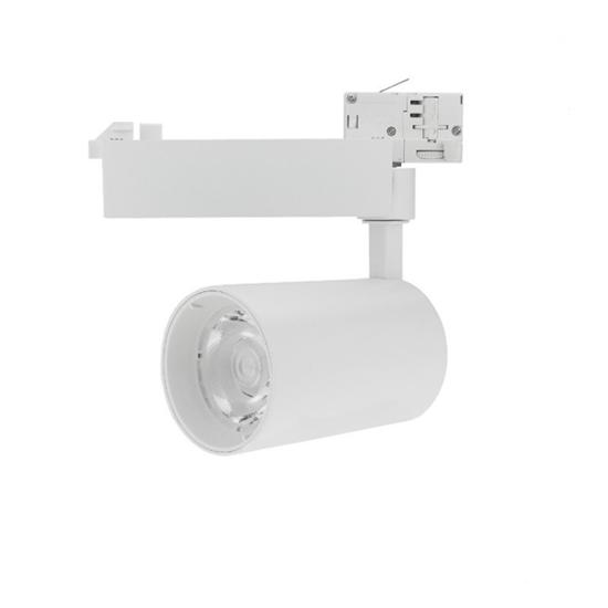 Εικόνα της Led Φωτιστικό Ράγας Λευκό 25watt 5000K Ψυχρό Λευκό