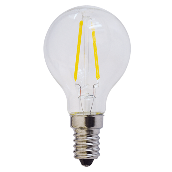 Εικόνα της Filament E14 Λάμπα Led G45 2W 200Lm Ψυχρό λευκό