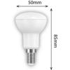 Εικόνα της Ε14 Λάμπα Led Bulb R50 6Watt Θερμό Λευκό