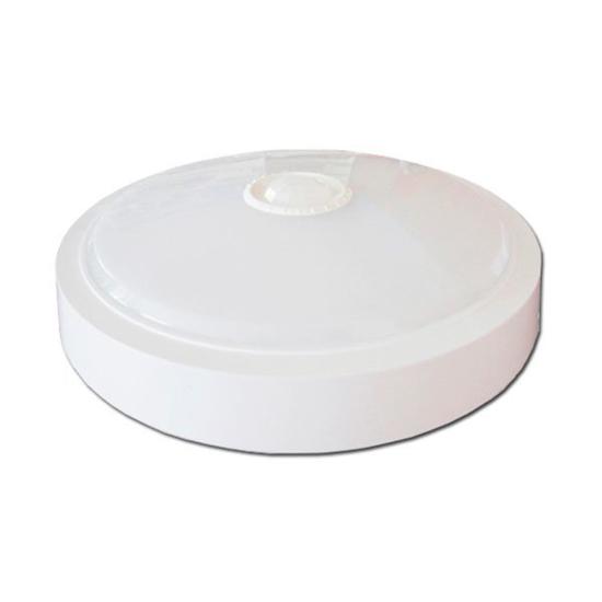 Εικόνα της LED Πλαφονιέρα 15W Στρογγυλή Με Ανιχνευτή Κίνησης Ψυχρό Λευκό