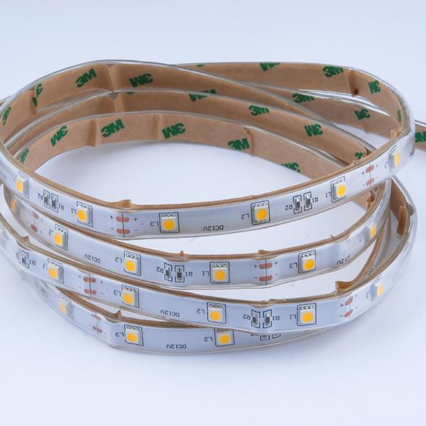 Εικόνα της Ταινία led strip IP54 7.2 watt με 30 led 5050 smd ανα μέτρο Θερμό λευκό