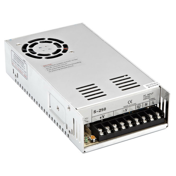 Εικόνα της Τροφοδοτικό LED 360Watt 12V 30A Σταθεροποιημένο