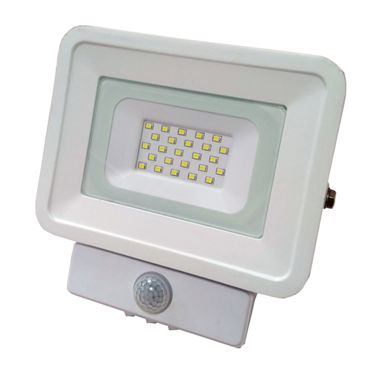 Εικόνα της LED Προβολέας SMD 10 Watt  Classic Line2 με Ανιχνευτή Κίνησης Ψυχρό Λευκό