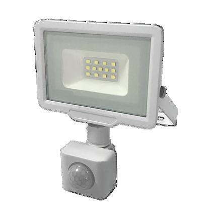 Εικόνα της LED Προβολέας 10 Watt  City Line με Ανιχνευτή Κίνησης Ψυχρό Λευκό