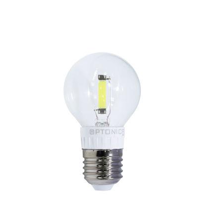 Εικόνα της LED Λαμπτηρας Ταινιων Κερι Φλογα 2W Ψυχρο Λευκο