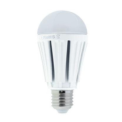 Εικόνα της LED Λαμπα  Ε27 Αλουμινιου 12W Θερμό Λευκό