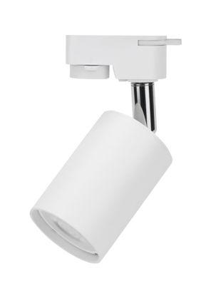 Εικόνα της Βάση Σποτ Αλουμινίου Ράγας 4Επαφών GU10 Λευκή