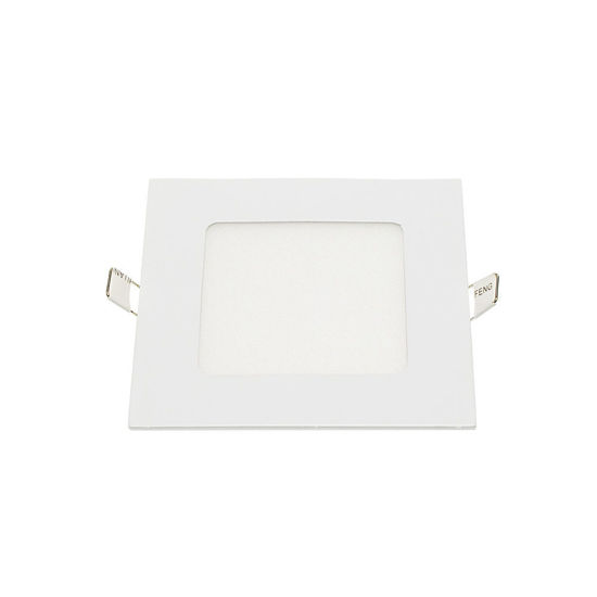 Εικόνα της LED Mini Panel Τετράγωνο Χρωματική Λορίδα 12W Ψυχρό Λευκό