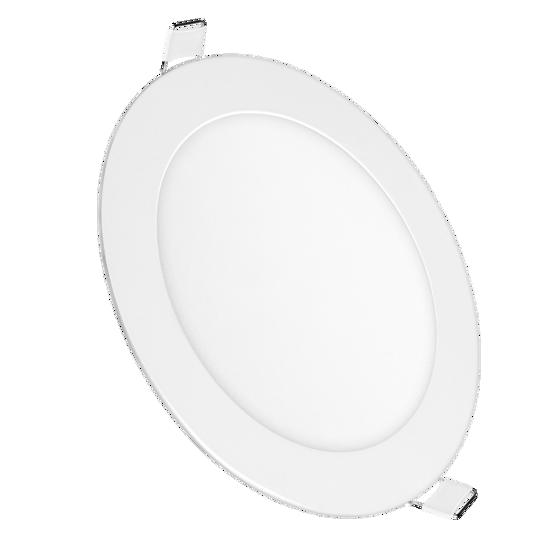 Εικόνα της LED Μικρο Πανελ Στρογγυλο Οικιακη Χρηση 6W Θερμο Λευκο