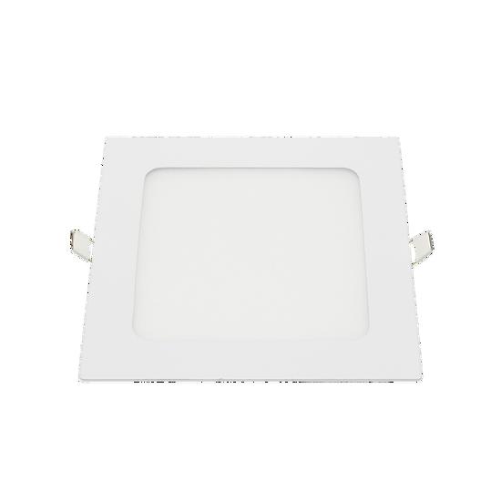 Εικόνα της LED Μικρό Πάνελ Τετράγωνο Οικιακή Χρήση 12W Θερμό Λευκό