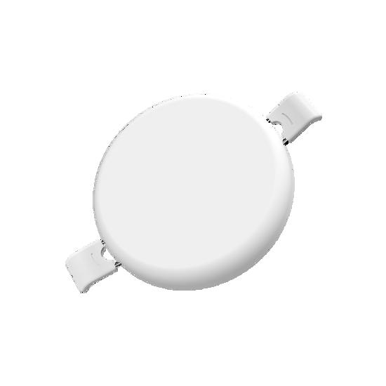 Εικόνα της LED Panel Χωρίς Πλαίσιο Στρογγυλό 36W Θερμό Λευκό