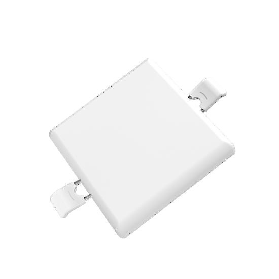 Εικόνα της LED Panel Χωρίς Πλαίσιο Τετράγωνο 9W Φυσικό Λευκό
