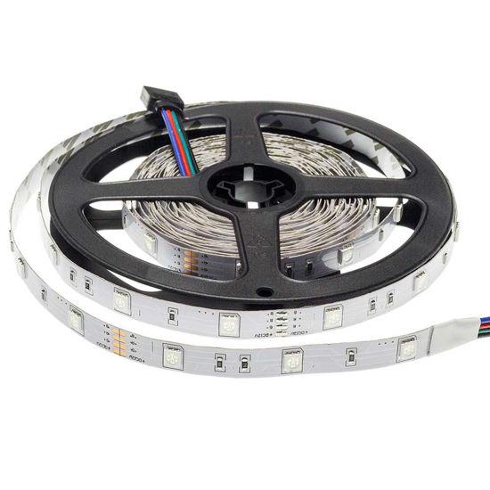 Εικόνα της Ταινία led 5050 12V Μη Αδιαβροχη Eπαγγελματικης Χρήσης 7.2W/m RGB