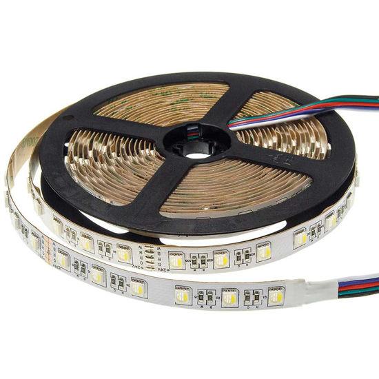 Εικόνα της Ταινία led 5050 24V Μη Αδιαβροχη 3 Χρονια Εγγυηση 16W/m RGBWW