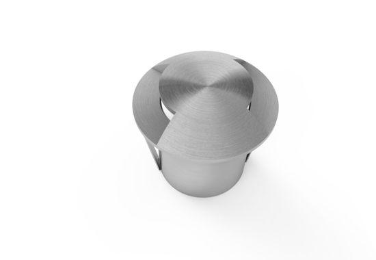Εικόνα της Φωτιστικό Δαπέδου Ανοξείδωτο 1.3W 2 Δέσμες Θερμό Λευκό